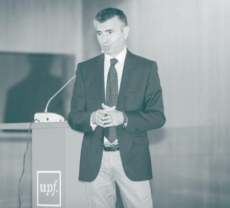 Conferencia de Ferran Font en la Universidad Pomeu Fabra